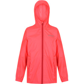 Regatta Pack It III Chaqueta Niños, fiery coral